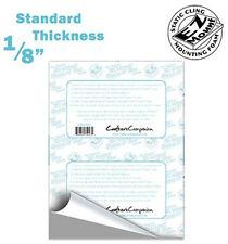 "EZ Mount Premium Mounting Foam Cushion 1/8"", 8 1/2"" x 11"", One (1) Sheet"