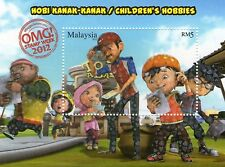 Malaysia Stamp 2013 Children Hobbies Miniature Sheet Overprint
