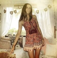 Arnhem / Hope Mini Dress in Apricot Dream Small or 8-10AU ~ Gypsy Boho Festival