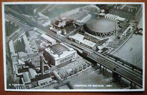 FESTIVAL OF BRITAIN 1951 VINTAGE POSTCARD