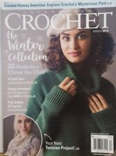 Interweave Crochet Winter 2019 The Winter Collection Tunisian FREE SHIPPING CB