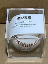 DON LARSEN   Autographed/Signed Baseball  New York Yankees Tristar Authenticated