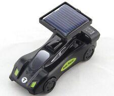 5019 Solar Powered Black Race Car Ready to Race Assembly Kit Christmas Gift 8+