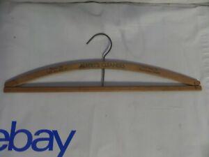 Albert's Cleaner's Vancouver, Wash Wooden Hanger Clothing Vintage