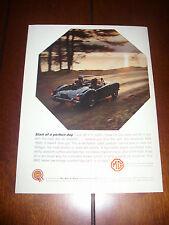 1961 MGA 1600  - ORIGINAL VINTAGE AD