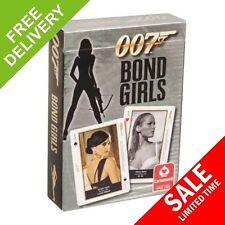 007 Bond Girls - Cartamundi Playing Cards . OOP 2008 - Ursula Andress Diana Rigg