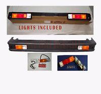 Suzuki Samurai SJ413 SJ410 Front Bumper Bar With Lights Sierra Drover Jimny S2u