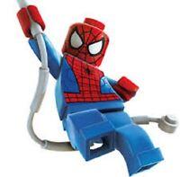 LEGO MARVEL SUPER HEROES Minifig SPIDERMAN Venom Weapon Web String 10665 MINT