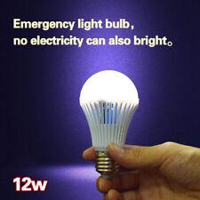 E27 4PCS Energy Saving LED Intelligent Emergency Light Battery Rechargeable Bulb