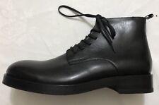 0 size 11 1/2 Calvin Klein Bylthe Black Lace Up Ankle Boot Mens Shoes EUC