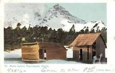 Popocateptl Mexico Medio Camino Scenic View Antique Postcard J55546