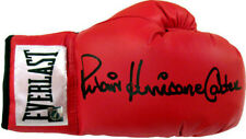 RUBIN HURRICANE CARTER HAND SIGNED AUTOGRAPHED BOXING GLOVE WITH PROOF AND COA