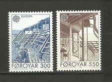 EUROPA CEPT 1987 Foroyar îles de Féroé 2 timbres neufs MNH /TR1682