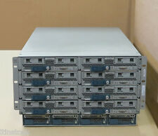 Cisco ucs5108 + 8x b200 m3 Blade Serveur 16x Six-core 2.00ghz, 768 Go RAM, 10 Go Vic