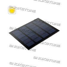 1.5W LAMINATED SOLAR MONOCRYSTALLINE SILICON CELL PANEL PANNELLO SOLARE BLACK