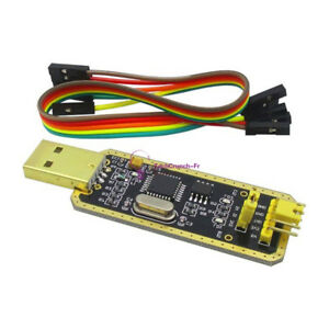 FT232BL USB to Serial USB to TTL Upgrade Download/CH340G AdapterBrush Board Gold