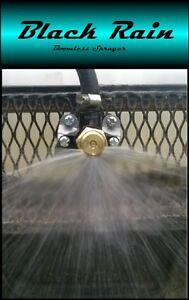 Black Rain Boomless Sprayer Nozzle for ATV Spot Sprayer - Up to 31FT