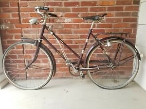 Vintage Raleigh Nottingham England Made Road Bike 4 Collection Parts Or Repair
