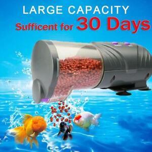New Automatic Fish Tank Auto Feeder Aquarium Feeding Tropical Marine Feed