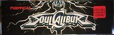 """Soul Calibur Arcade Marquee 26"""" x 8"""""""