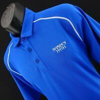 Mens Under Armour Heatgear Performance Golf Polo Shirt Size Large Sharks Tooth