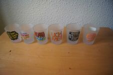 6 Original Downpace SHOT GLASSES TOO MUCH SEX MAKES YOUR EYES BLURRY LICK ME