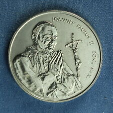 Canada - Moncton NB - 1984 - Pope John Paul II Visits Medallion ~ 33 mm in dia.