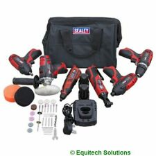 Sealey CP1200COMBO2 6 Tool Combo Kit CP1201 CP1202 CP1203 CP1204 CP1205 CP1207