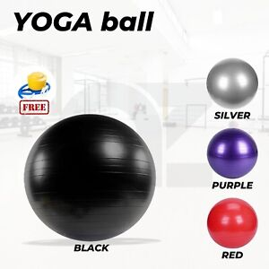 Yoga Ball with Pump for Gym Home Exercise & Rehab Pilates 55/65/75/85cm