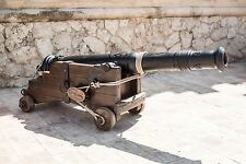 Arredamento giardino, garden furniture, antique cannon, antiquariato,furnishings