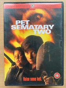 Pet Sematary Two DVD ~ 1992 Cemetery 2 Stephen King Horror with Edward Furlong