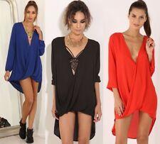 Clubwear Solid Blouson Dresses for Women