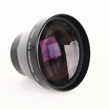* Olympus A-200 IS/L H.Q.1.5x Converter Lens w/ Leather Lens Pouch