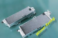 RIGHT+LEFT ALLOY RADIATOR FIT HUSQVARNA CR/WR/SMS/WRE 125/250/300/360 2000-2012