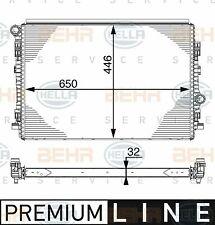 RADIATORE MOTORE AUDI A3 - Q2 - Q3 - TT 2.0 TDI DAL 12-> ORIGINALE BEHR / MAHLE