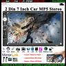 7''2 DIN Touch screen Autoradio Bluetooth Link Specchio MP5 Stereo AUX/TF/FM/USB