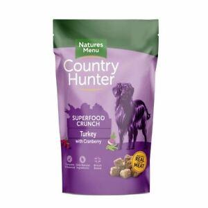 Natures Menu Superfood Crunch Turkey Cranberry Dry Dog Food British Baked 1.2kg