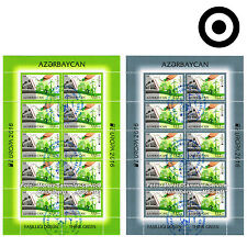 Azerbaigian Azerbaijan EUROPA CEPT 2016, ambiente/THINK GREEN, piccoli archi gestemp