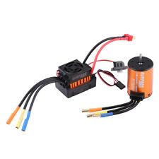 Wasserfest 1/10 RC Auto 4 Pole 3650 3100KV Motor + 45A Elektro Drehzahlregler ms