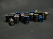 28mm  Pro painted Lot of 20 barrels  -Post apocalypse,Zombie ,Sci Fi Terrain