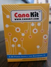 CanaKit Power Supply For Raspberry Pi 2.5A (UL Listed) New in Box