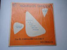 Lost 1950s unknown Colombia Aquellos Tangos Con El Caballero Gaucho Pasillo LP