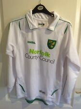 Norwich City Youth Team Match Worn Shirt No 8,
