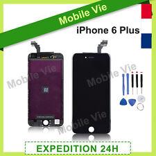 ECRAN IPHONE 6 PLUS NOIR VITRE TACTILE + LCD RETINA SUR CHASSIS + OUTILS