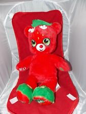 Build a Bear Shopkins Strawberry Kiss Great Condition!