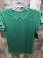 New Nike Green Performance Short Sleeve Tee Size X-Small New With Tags