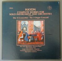 F324 Haydn Complete Works for Solo and Orchestra Vol.2 3LP Vox SVBX 5141 Stereo