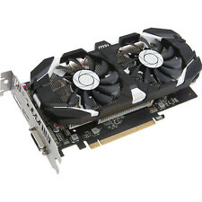 MSI GeForce GTX 1050 Ti 4GT OC 4GB GDDR5 Graphics Card, 768 Core, 1341MHz GPU, 1