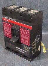 CUTLER HAMMER MOLDED CASE 600 AMP 600 VAC 3 POLE WITH SHUNT TRIP MODEL LS36060YE