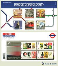 2013 London Underground inc. M/S Stamp Presentation Pack PP453 (printed no.480)